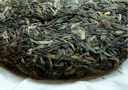 2015 'Disco Biscuit' Yiwu 'Man Sa' Old Arbor Raw Puerh Tea Cake