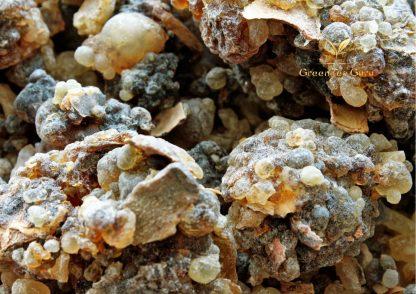 2017 Omani Black Resin 'Luban Aswad' Frankincense