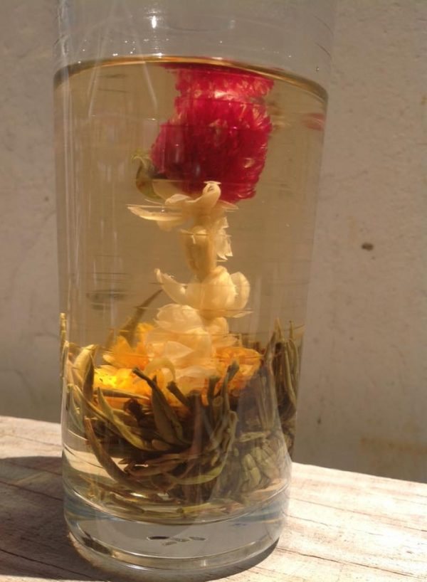 Flowering Tea Balls 'Jasmine Silver Needle & Amaranth Flower
