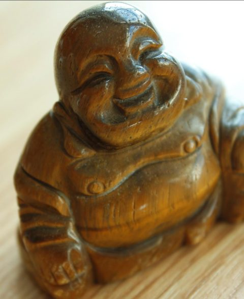 Hand Carved Buddha Tea Pet