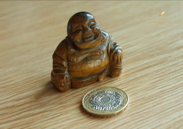 Hand Carved Buddha Tea Pet